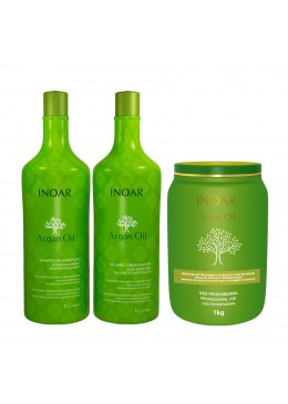 Inoar Argan Oil Kit Professional Treatment