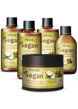 Inoar Vegan Kit Complete - 5 Products