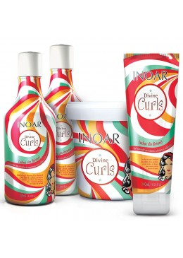 Inoar Divine Curls Full Kit (4 products)