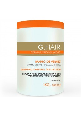 G.Hair Inoar Mask Verniz Bath 1kg