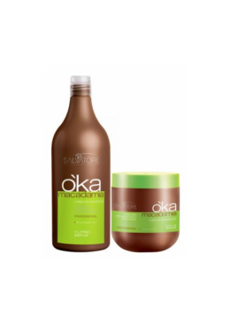Kit Oka Macadamia 1L and 500g - Salvatore