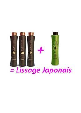 Kit lissage japonais Honma Tokyo Coffee premium + coffee green   Beautecombeleza.com