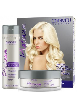 Cadiveu Kit Home Care Platinum Tint