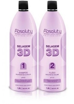 Kit Selagem 3d Absoluty Color