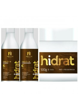 Kit Hidrat de Mandioca Tree Liss - 3x 500ml