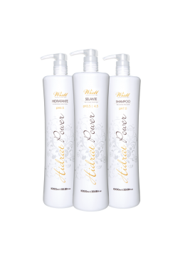 KIT LISSAGE BRESILIEN HIDRAT POWER – 1L   Beautecombeleza.com