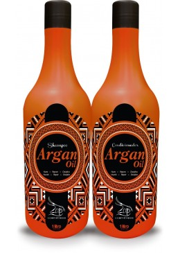 ARGAN OIL SHAMPOO AND CONDITIONER FOR 2X1L WASHBASIN ZAP