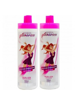 Maria Glamurosa Brazilian Smoothing - 2 X 1000ml