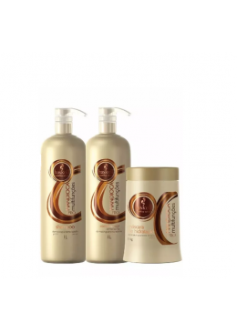 Manioc Professional Afro Hair Kit 2x1L and 1Kg Haskell Beautecombeleza.com