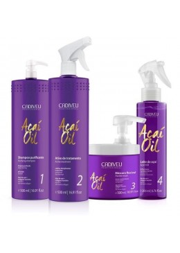 Acai Oil Therapy Professional Kit - Cadiveu