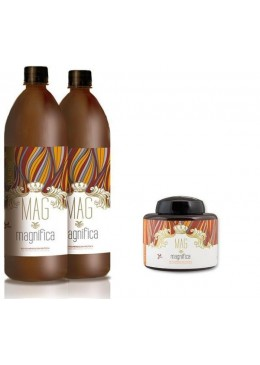 Biopolimerization Protein Kit 2x500ml and 500g MAG Magnifica Beautecombeleza.com