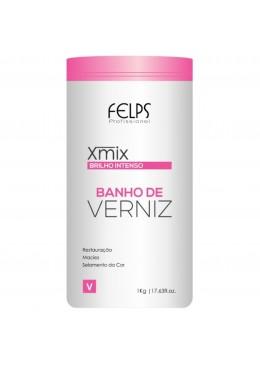 Xmix Banho de Verniz Intense Brightness Mask 1Kg - Felps Beautecombeleza.com