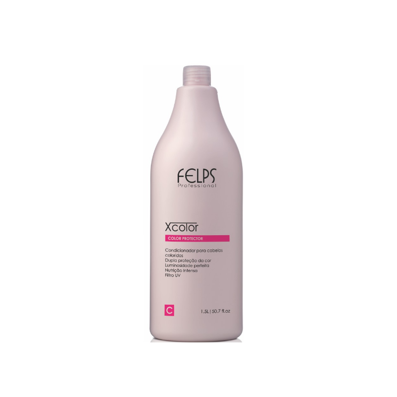 Xcolor Protector Conditioner 1000ml - Felps Beautecombeleza.com