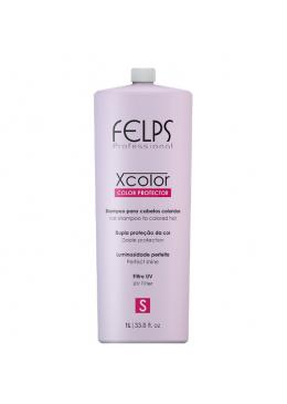 Xcolor Protector Shampoo 1L - Felps Beautecombeleza.com
