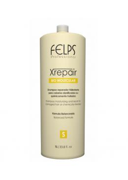 Xrepair Bio Molecular Shampoo 1L - Felps Beautecombeleza.com