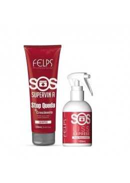 Kit Lissage SOS - Felps Beautecombeleza.com