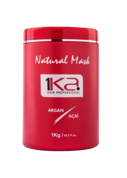 Natural Mask Argan Acai 1kg - 1Ka