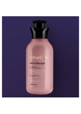 Vegan Monoï and Argan Body Lotion Moisturizing Deodorant 400mL - Nativa SPA Beautecombeleza.com