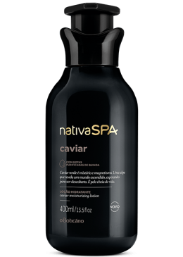 Vegan Caviar Body Lotion Moisturizing Deodorant 400mL- Nativa SPA Beautecombeleza.com