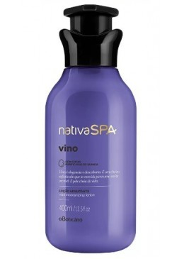 Vegan Wine Therapy Body Lotion Moisturizing Deodorant 400mL - Nativa SPA Beautecombeleza.com