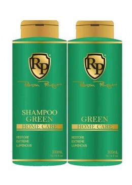 Green Home Care Mask Toning Shampoo + Green (2x300ml) Robson Peluquero beautecombeleza.com