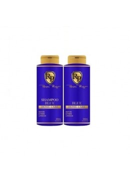 Blue Home Care Mask Toning Shampoo + Blue Mask 2x300ml - Robson Peluquero beautecombeleza.com