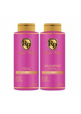 Pink Home Care Mask Toning Shampoo + Pink Mask 2x300ml - Robson peluquero beautecombeleza.com