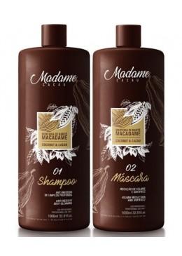 Madame Cocoa Reconstructor Kit (2x1L) - Madamelis Beautecombeleza.com