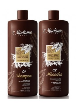 Kit de reconstruction Madame Cacao (2x1L) - Madamelis Beautecombeleza.com