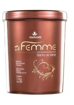 Di Femme Banho de Verniz Mask Hair (1kg) - Madamelis Beautecombeleza.com