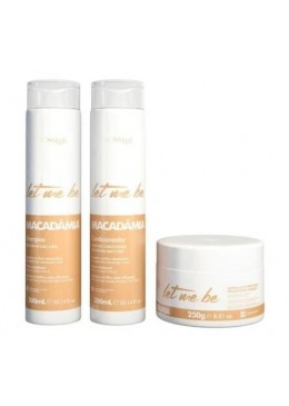Kit Home care Macadamia (2x500ml + 250g) - Prosalon Beautecombeleza.com
