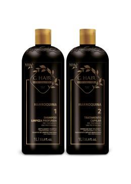 Kit Marroquina G HAIR INOAR     Beautecombeleza.com