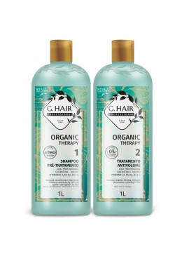 KIT Organic Therapy G HAIR INOAR     Beautecombeleza.com