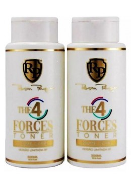 4 Forces Toner Home Care Hair Tinting Treatment 2x300ml - Robson Peluquero       Beautecombeleza.com