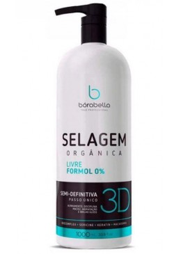Semi Definitive 3D Organic Sealing Formol Free Progressive 1000ml - Borabella