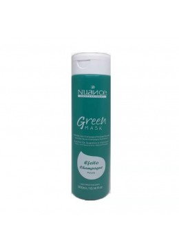 Brazilian Blond Pearl Effect Green Toning Champagne Tinting Mask 300ml - Nuance Beautecombeleza.com