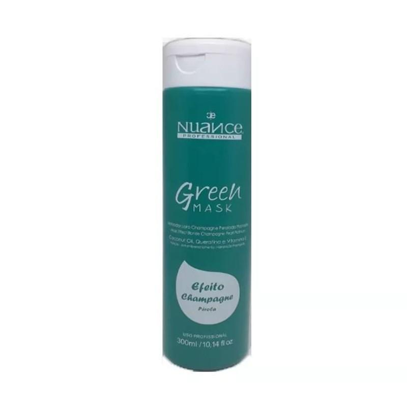 Brazilian Blond Pearl Effect Green Toning Champagne Tinting Mask 300ml - Nuance  Beautecombeleza.com