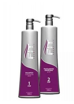 Brazilian Reductor Advanced Progressive Hair Treatment 2x1L - Fit Cosmetics Beautecombeleza.com