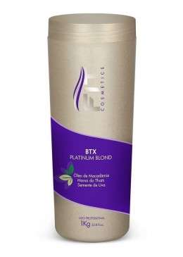 Platinum Blond Macadâmia Tahiti Grape Seed Hair Botox Mask 1Kg - Fit Cosmetics Beautecombeleza.com