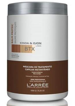 Kinoa & Ojon Balm Proteic BTX Organic Treatment 1000g - L'ARRËE Beautecombeleza.com