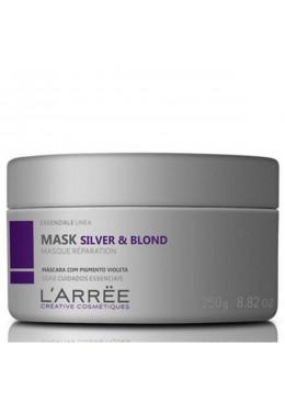 Essenziale Linea Silver & Blond Toning Masque Réparation Mask 250g - L'ARRËE Beautecombeleza.com