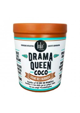 Drama Queen Vegan Coconut Nutrition Reconstruction Mask 450g - Lola Cosmetics Beautecombeleza.com