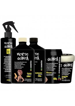 """Sudden Death"" Morte Subita Hydrating Treatment Kit 5 Products - Lola Cosmetics Beautecombeleza.com"
