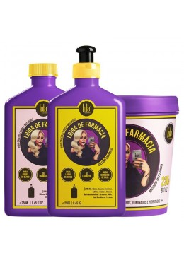 Blonde Pharmacy Hair Tinting Blond Treatment Kit 3 Products - Lola Cosmetics Beautecombeleza.com