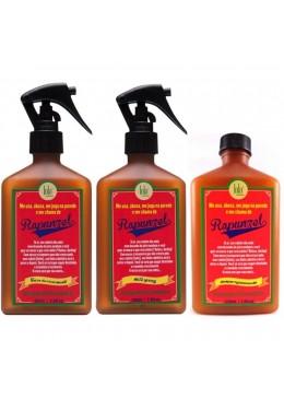 Brazilian Rapunzel Anti Fall Hair Growing Treatment 3 Products - Lola Cosmetics Beautecombeleza.com