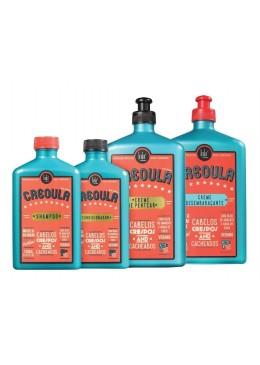Keratin New Formula Creoula Curly Hair Treatment Kit 4 Products - Lola Cosmetics Beautecombeleza.com