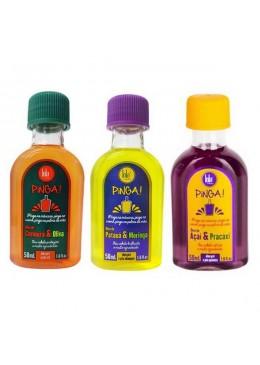 Pinga Oil Acai Pracaxi Carrot Olive Pataua Moringa Kit 3x50ml - Lola Cosmetics  Beautecombeleza.com