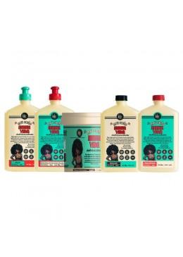 My Curls My Life Curly Pataua Oil Aloe Vera Hair Kit 5 Products - Lola Cosmetics Beautecombeleza.com