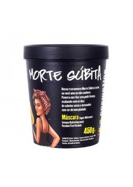 Hydro Nourishing Mask Morte Súbita (450g) - Lola Cosmetics Beautecombeleza.com
