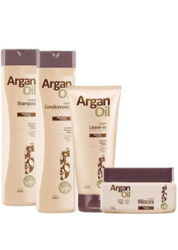 Argan Oil Home Care Maintenance Kit- Vip